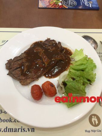 nha hang d maris buffet beef steak