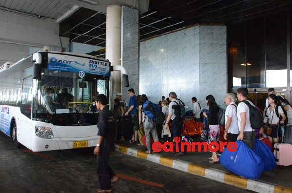 shuttle bus suvarnabhumi