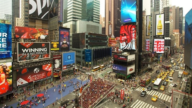 Times Square, New York Mỹ